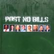 Post No Bills. A Creativit project by Ji Lee - 10.22.2019
