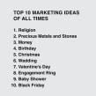Top 10 Marketing Ideas of All Times. A Creativit project by Ji Lee - 10.23.2019