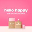 Hello Happy Soft blur fundation. Un proyecto de 3D y Animación 3D de Bernat Casasnovas Torres - 27.09.2018