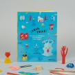 Libro ¡Tris,Tras!. Un proyecto de Dirección de arte, Diseño editorial, Creatividad, Dibujo, Fotografía artística e Ilustración infantil de Pin Tam Pon - 15.11.2018