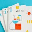 Libro ¿Qué ves?. Un proyecto de Ilustración, Dirección de arte, Diseño editorial y Diseño gráfico de Pin Tam Pon - 01.11.2017