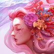 Corals. Un projet de Dessin et Illustration numérique de Karmen Loh (Bearbrickjia) - 21.06.2019