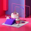 R A N D O M. Un proyecto de Diseño, 3D, Dirección de arte, Ilustración digital, Modelado 3D y Diseño 3D de Jeison Barba - 06.11.2019