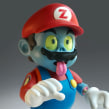 Zombie Mario Classic Horror Monsters. Um projeto de Artesanato e Escultura de Luaiso Lopez - 08.04.2018