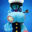 Zombie Popeye 90º Aniversario. Un proyecto de Escultura y Diseño de juguetes de Luaiso Lopez - 27.08.2019