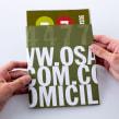 Menú domicilios / Osaki. Un proyecto de Br, ing e Identidad, Diseño gráfico y Fotografía de producto de Arutza Rico Onzaga - 14.07.2013
