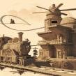 Train Station. Un proyecto de Modelado 3D de Albert Valls Punsich - 14.11.2019