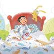 It's Not a Bed, It's a Time Machine. Um projeto de Ilustração infantil de Teresa Martínez - 21.07.2019