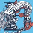 "ILUSTRACIÓN BAGRE. ""DAME"" FANZINE GASTRONÓMICO. A Design & Illustration project by JORGE LEWIS - 11.29.2019"