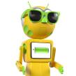 Robii - Personaje para app de salud. Un proyecto de Animación de personajes, Animación 3D, Modelado 3D y Diseño de personajes 3D de Paul Brown - 11.07.2018