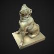 Scan 3D - The Jennings Dog. Un proyecto de 3D, Modelado 3D y Diseño 3D de David Chumilla - 12.12.2019