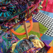 """""""African Leather"""" Tapetes en cuero bordados. Un proyecto de Bordado y Decoración de interiores de Ana María Restrepo - 12.12.2019"""