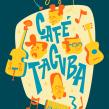 Café Tacvba by EdVill. Un proyecto de Ilustración, Ilustración vectorial, Ilustración digital, Ilustración de retrato, Ilustración textil e Ilustración infantil de Ed Vill - 13.12.2019