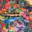 """""""Nature's Renaissance"""" . Un proyecto de Bellas Artes, Pintura, Bordado y Pintura acrílica de Ana María Restrepo - 13.12.2019"""