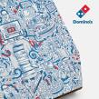 DOMINO'S  // SPECIAL EDITION PIZZA BOX. Un proyecto de Ilustración, Diseño gráfico, Packaging e Ilustración vectorial de Mauro Martins - 01.03.2018