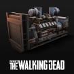 Overkill's The Walking Dead - Props. Un proyecto de 3D, Modelado 3D, Videojuegos, Diseño 3D, Diseño de videojuegos y Desarrollo de videojuegos de David Chumilla - 22.12.2019