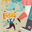 ¿A dónde van las cosas perdidas?. Un proyecto de Diseño, Ilustración, Diseño de personajes, Creatividad, Ilustración digital e Ilustración infantil de Flavia Z Drago - 13.04.2015