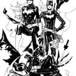 Batgirls. A Comic project by Marcio Takara - 01.01.2020