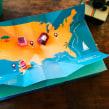 El pez que quería ser cantante - Libro pop up. A Papercraft, Bookbinding, and Design 3D project by Silvia Hijano Coullaut - 01.02.2020
