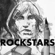 Rockstars . Un proyecto de Ilustración, Pintura, Dibujo, Ilustración de retrato y Dibujo de Retrato de ZURSOIF Miguel Bustos Gómez - 07.10.2019