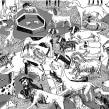 Libro Discurso de José Revuelvtas a los perros en el Parque Hundido. A Illustration project by Santiago Solís Montes de Oca - 01.22.2020