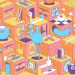 Solo show - 2019. Un proyecto de Ilustración, Ilustración vectorial e Ilustración digital de Jorsh Peña - 31.01.2020