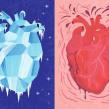 Editorial illustrations: Modern Psykologi. A Illustration project by Emma Hanquist - 09.30.2019