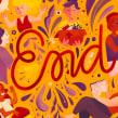 End - Creative Mornings. Um projeto de Ilustração e Ilustração digital de Isadora Zeferino - 03.08.2019