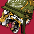 Gig Poster: Tiger Army. Un proyecto de Ilustración y Diseño gráfico de Mike Sandoval - 02.11.2016
