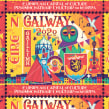 Galway 2020 Stamp. A Illustration, Graphic Design, and Lettering project by Steve Simpson - 01.04.2020