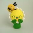 Daisy and Bee are more than just friends!. Um projeto de Design de personagens, Artesanato, Artes plásticas, Escultura, To e Art de droolwool - 04.02.2020