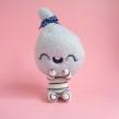 Ceecee, cotton candy girl - Blue Raspberry. Un proyecto de Diseño de personajes, Artesanía, Bellas Artes, Escultura y Art to de Maria Filipe Castro - 06.02.2020