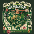 Jameson Whiskey. A Illustration, Graphic Design, Packaging, and Lettering project by Steve Simpson - 03.04.2015