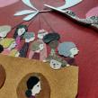 Pañuelito blanco . A Design, Illustration, Collage, and Children's book illustration project by Estrellita Caracol - 02.10.2020