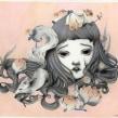 Slumber, Exposición individual 2017. A Illustration, Bildende Künste und Bleistiftzeichnung project by Siamés Escalante - 09.08.2017