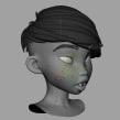 Prueba de deformación facial. Um projeto de Animação 3D, Animação de personagens e Rigging de Iker J. de los Mozos - 18.02.2020