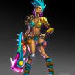 Chicas guerreras / Girl warriors. Un proyecto de Diseño de personajes, Ilustración digital y Concept Art de Felixantos - 18.02.2020