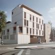 Edificio de viviendas DDP7. Un proyecto de Diseño de interiores, Modelado 3D, Arquitectura digital y Diseño 3D de Visualfabrik - 21.02.2020