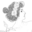 Ilustraciones con modelo 2. Un proyecto de Bellas Artes de Leonardo Gauna - 27.02.2020