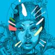 Posters Astronauta. Un proyecto de Ilustración de Leonardo Gauna - 27.02.2020