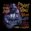 Mules'n'Blues festival. A Illustration project by David de Ramón - 03.09.2020
