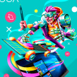 Reto Lenovo/Bacánika. Um projeto de Ilustração, Direção de arte, Ilustração digital e Design digital de Edgar Rozo - 10.03.2020
