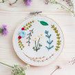 Bordado botánico. Um projeto de Bordado e Ilustração têxtil de Studio Variopinto - 18.03.2020