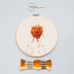 Peinados bordados. A Embroider, and Textile illustration project by Studio Variopinto - 03.18.2020