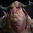 Troll bust. Un proyecto de 3D, Modelado 3D y Diseño de personajes 3D de Juan Novelletto - 16.03.2020