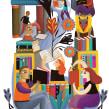 Revista Telos. Un proyecto de Ilustración digital de Estelí Meza - 24.12.2019