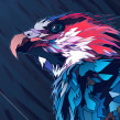 MADAGASCAR FISH EAGLE. A Illustration, and Graphic Design project by Dani Blázquez - 04.25.2014