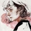NUMEN IX. Un proyecto de Ilustración, Dibujo, Ilustración de retrato y Dibujo de Retrato de Elena Garnu - 31.03.2020