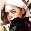 NUMEN X. Un proyecto de Ilustración digital, Ilustración de retrato, Dibujo de Retrato y Dibujo digital de Elena Garnu - 02.04.2020