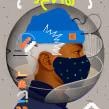 'Posted' / Shelter-In Series.. Un proyecto de Ilustración de Samuel Rodriguez - 03.04.2020